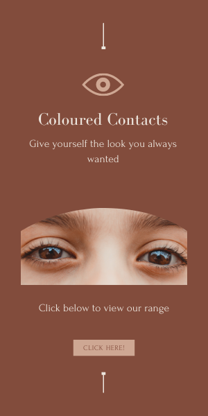 colored brown eye contact lenses